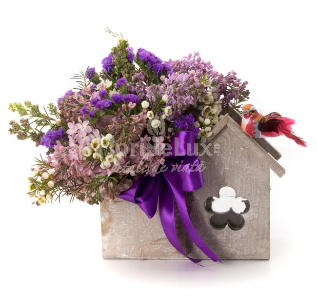 flori de 8 martie liliac