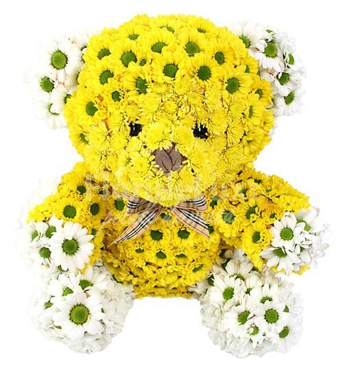 ursulet-din-crizanteme-8 martie
