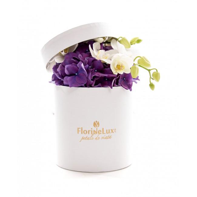 cutii cu flori 8 martie