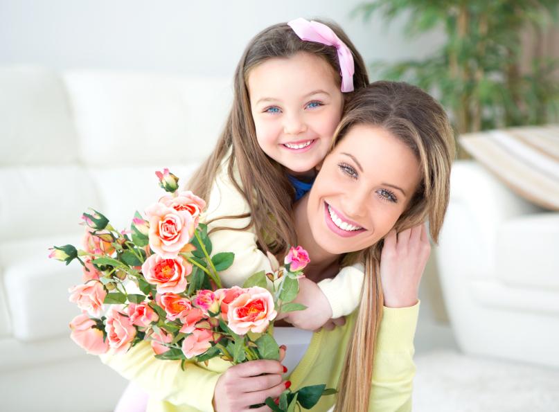 Flori cu mesaje de 8 martie