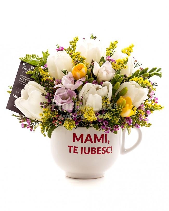 flori cu mesaje de 8 martie cana