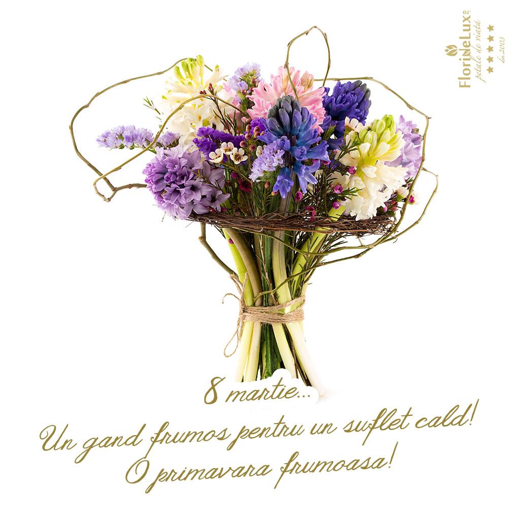 felicitari 8 martie cu flori