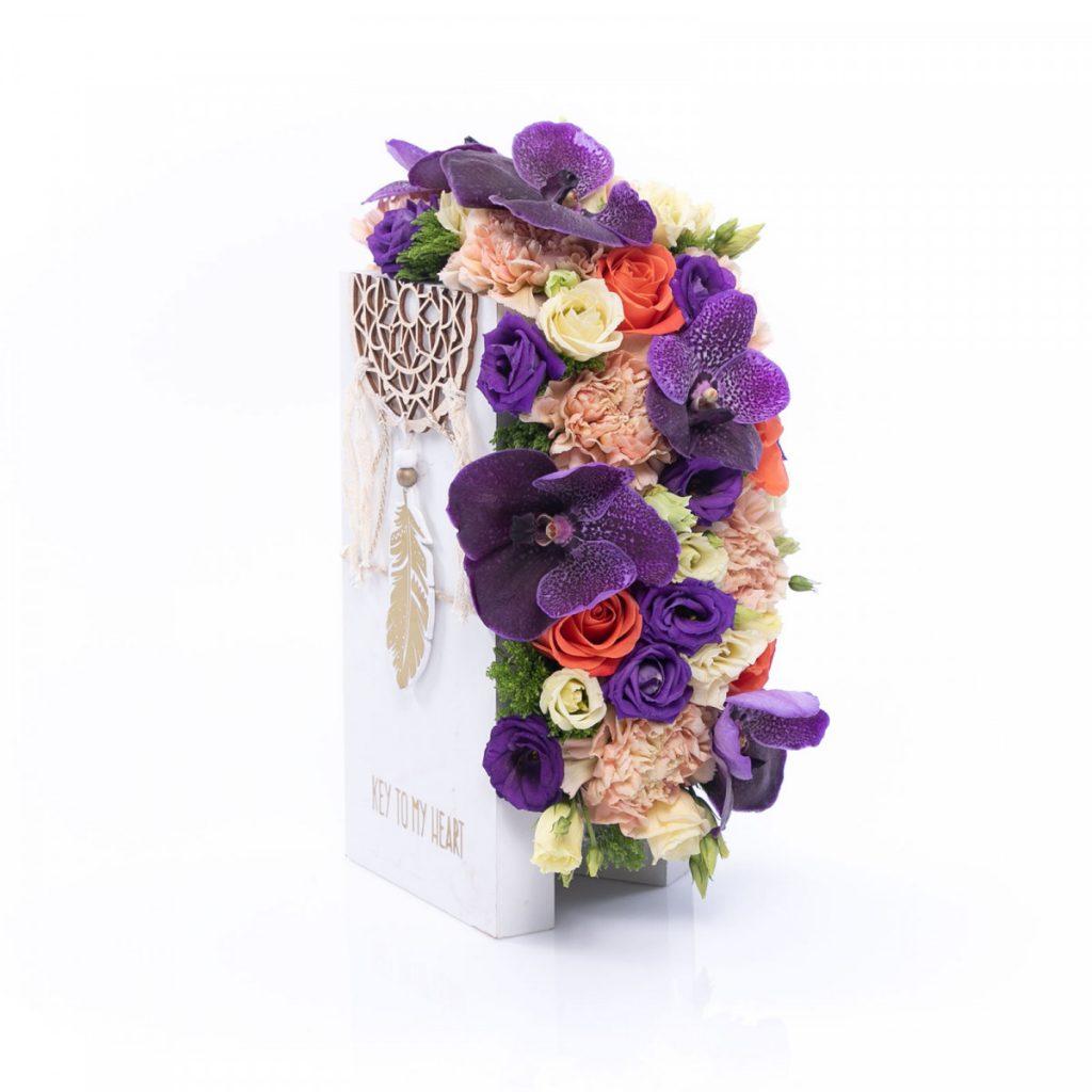 Aranjament floral vise implinite